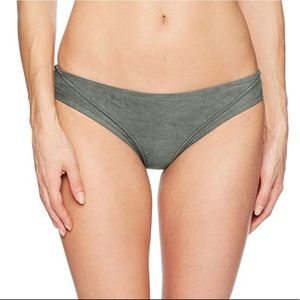 Lucky Brand Suede with Me Olive Hipster Bottom